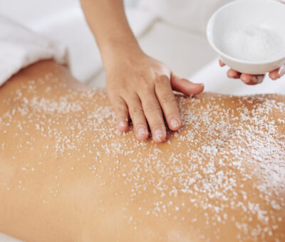 How many times do your bodies need to be scrubbing?