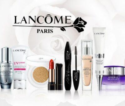 What time Lancôme got popular as a beauty brand?